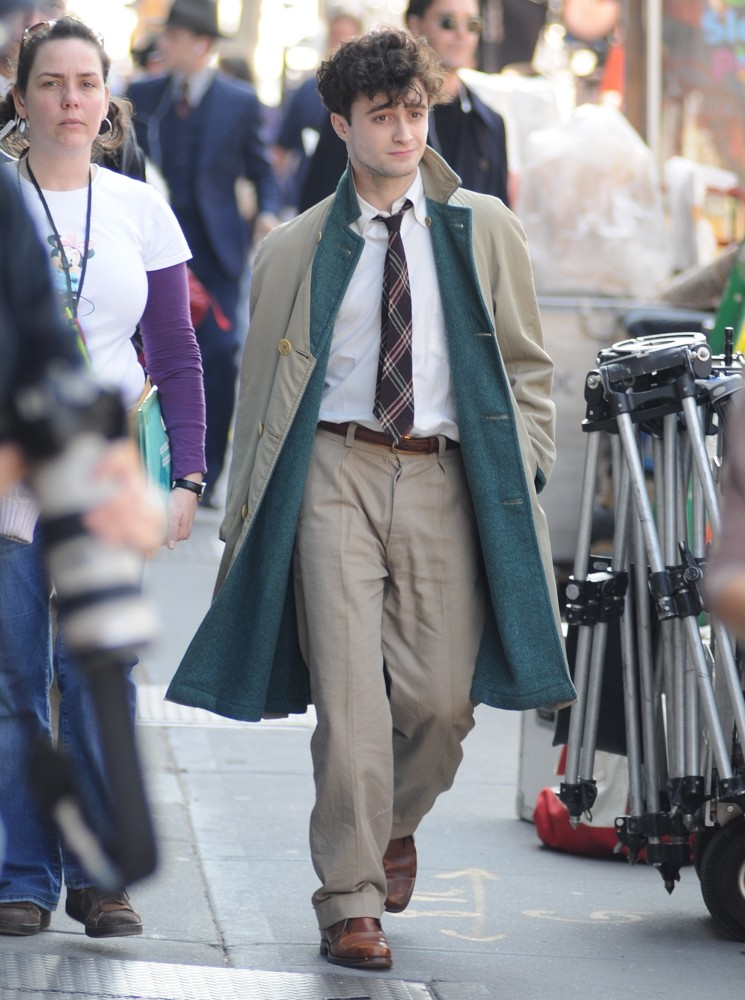 On The Set of Kill Your Darlings