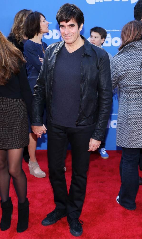 David Copperfield<br>The Croods Premiere - Arrivals