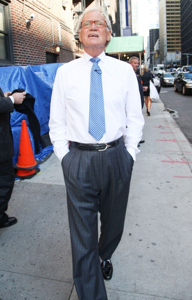 David Letterman<br>The Late Show with David Letterman - Arrivals