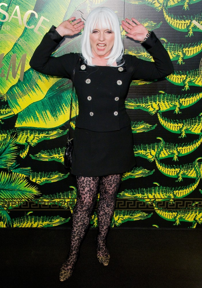 Debbie Harry<br>Versace for H and M Fashion Show and Party