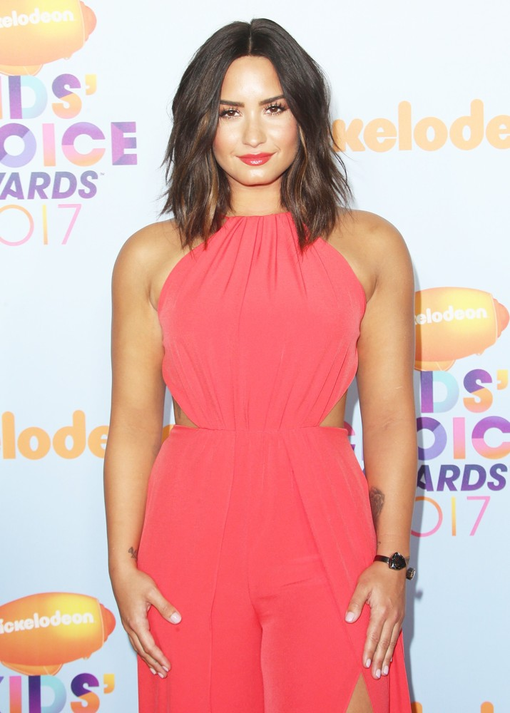 Demi Lovato<br>Nickelodeon's 2017 Kids' Choice Awards - Arrivals