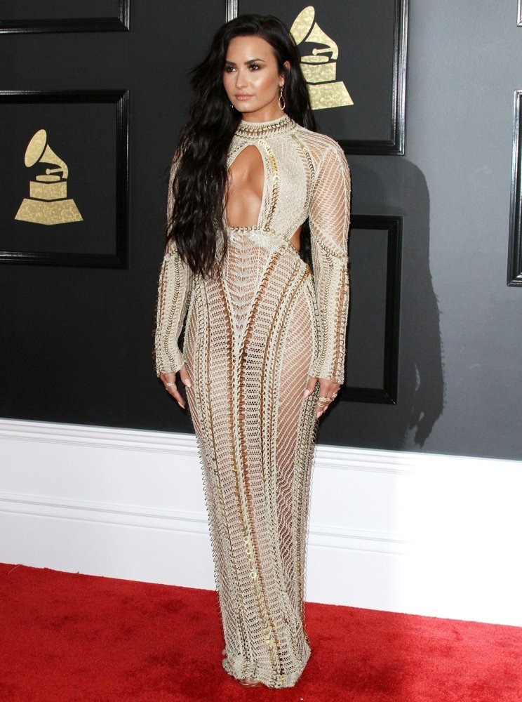 Demi Lovato<br>59th Annual GRAMMY Awards - Arrivals