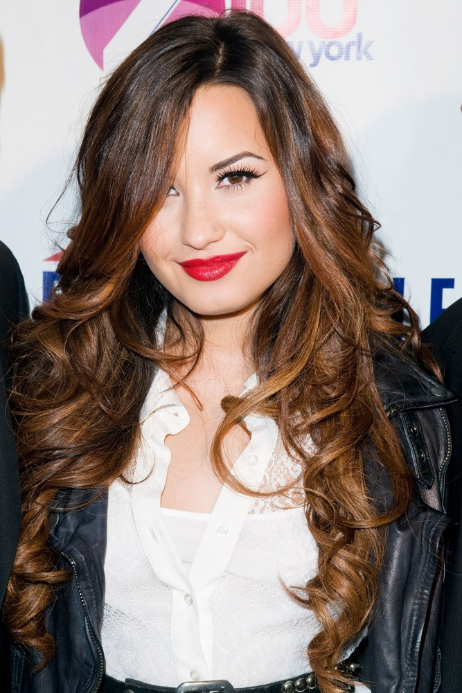 Demi Lovato<br>Z100's Jingle Ball 2011 Official Kick Off Party Presented by Aeropostale - Arrivals