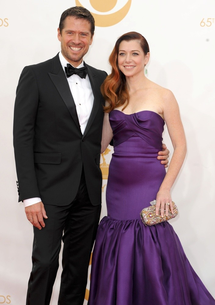 Alexis Denisof, Alyson Hannigan<br>65th Annual Primetime Emmy Awards - Arrivals