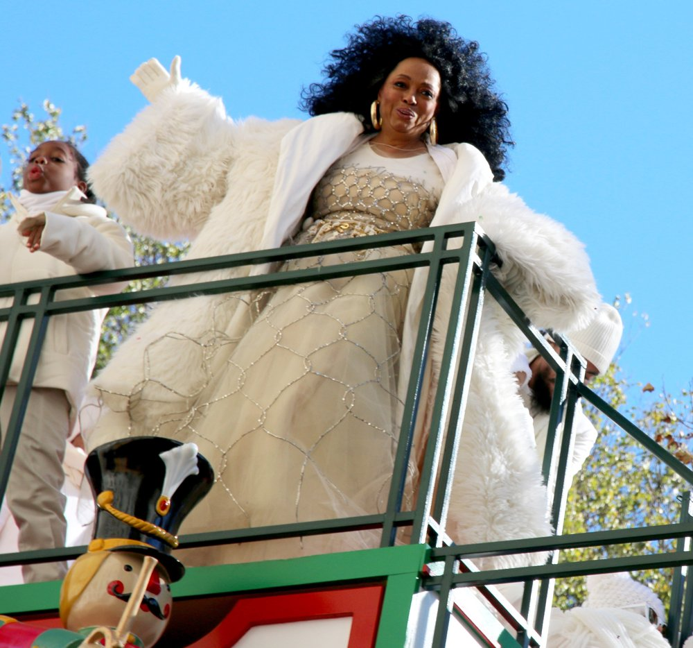 Diana Ross<br>The 92nd Annual Macy's Thanksgiving Day Parade
