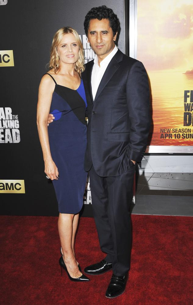 Kim Dickens, Cliff Curtis<br>Premiere of Fear the Walking Dead Season 2 - Arrivals