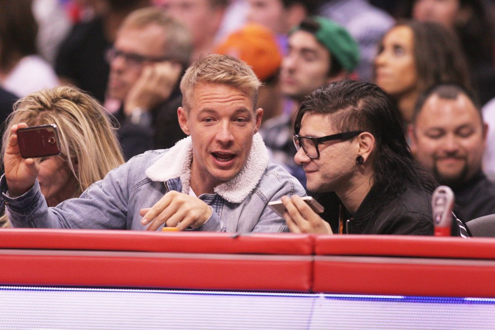 Diplo, Skrillex<br>The Los Angeles Clippers Game