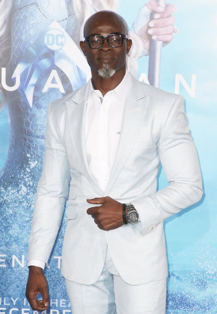Djimon Hounsou<br>Premiere of Warner Bros. Pictures' Aquaman