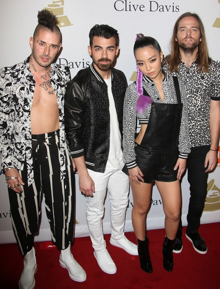 Joe Jonas, DNCE<br>2017 Pre-GRAMMY Gala and Salute to Industry Icons Honoring Debra Lee - Arrivals