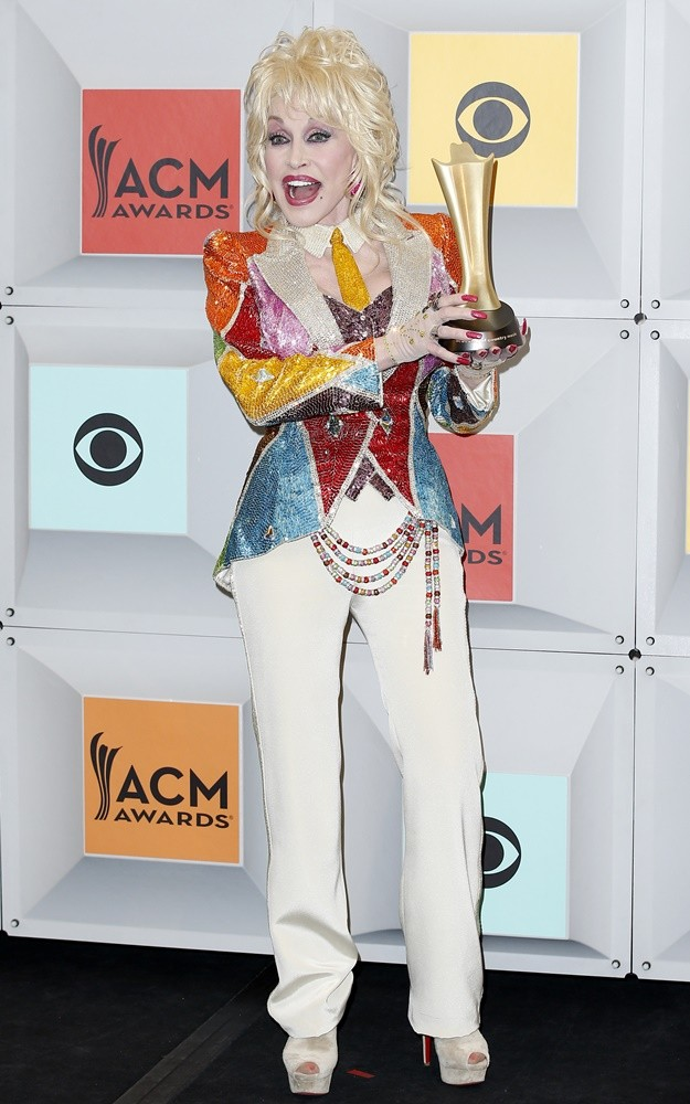 Dolly Parton<br>The 51st Academy of Country Music Awards - Press Room
