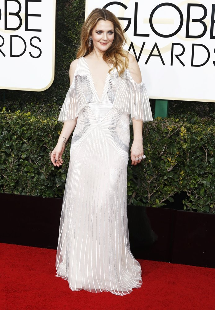 Drew Barrymore<br>74th Golden Globe Awards - Arrivals