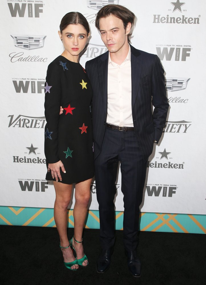 Natalia Dyer, Charlie Heaton<br>Variety and Women in Film's 2018 Pre-Emmy Celebration - Arrivals