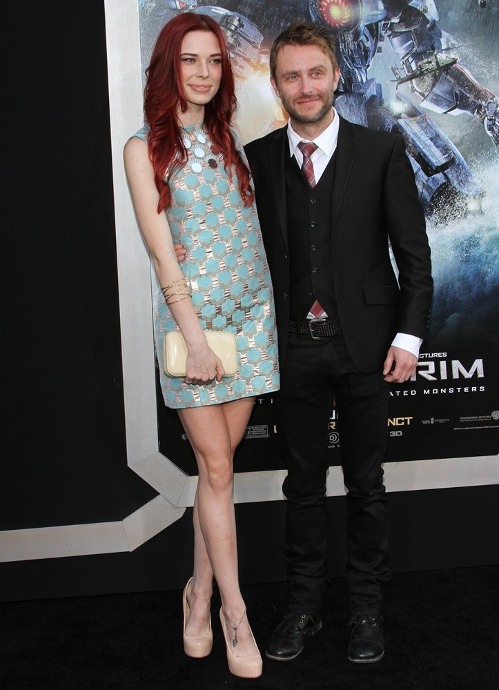 Chloe Dykstra, Chris Hardwick<br>Los Angeles Premiere of Pacific Rim