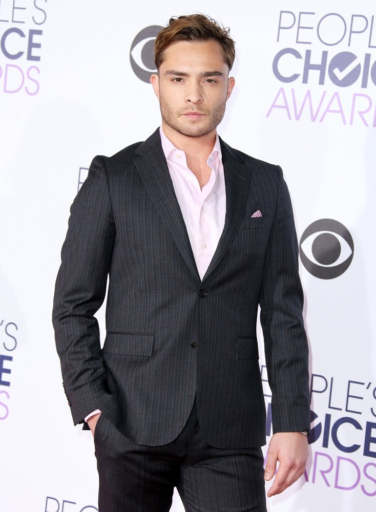 Ed Westwick Picture 73 - People's Choice Awards 2016 - Arrivals Ed Westwick