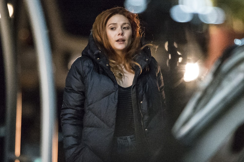 Elizabeth Olsen<br>Elizabeth Olsen Films Scenes for Movie Avengers: Infinity War