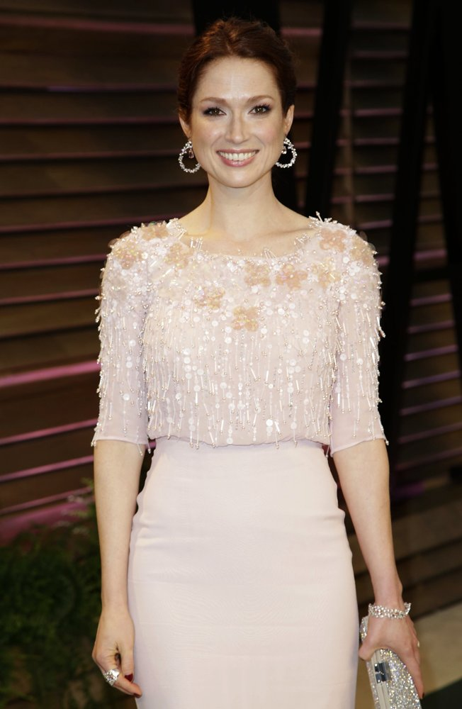 Ellie Kemper<br>2014 Vanity Fair Oscar Party