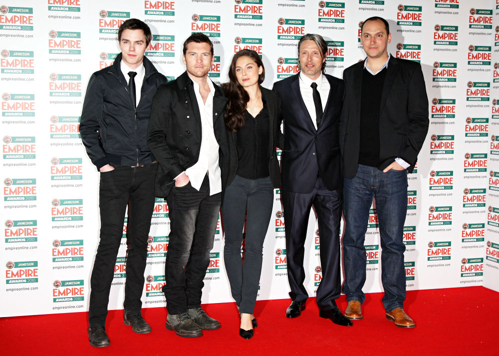 Nicholas Hoult, Sam Worthington, Alexa Davalos, Mads Mikkelsen, Louis Leterrier<br>The Empire Film Awards 2010