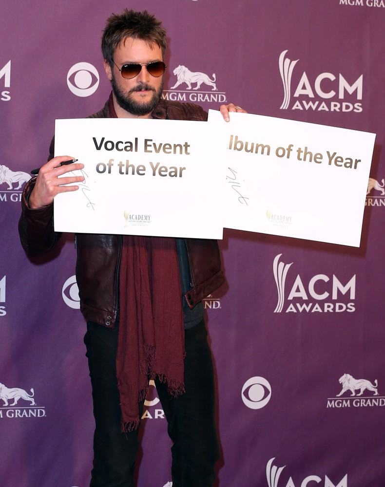 48th Annual ACM Awards - Press Room