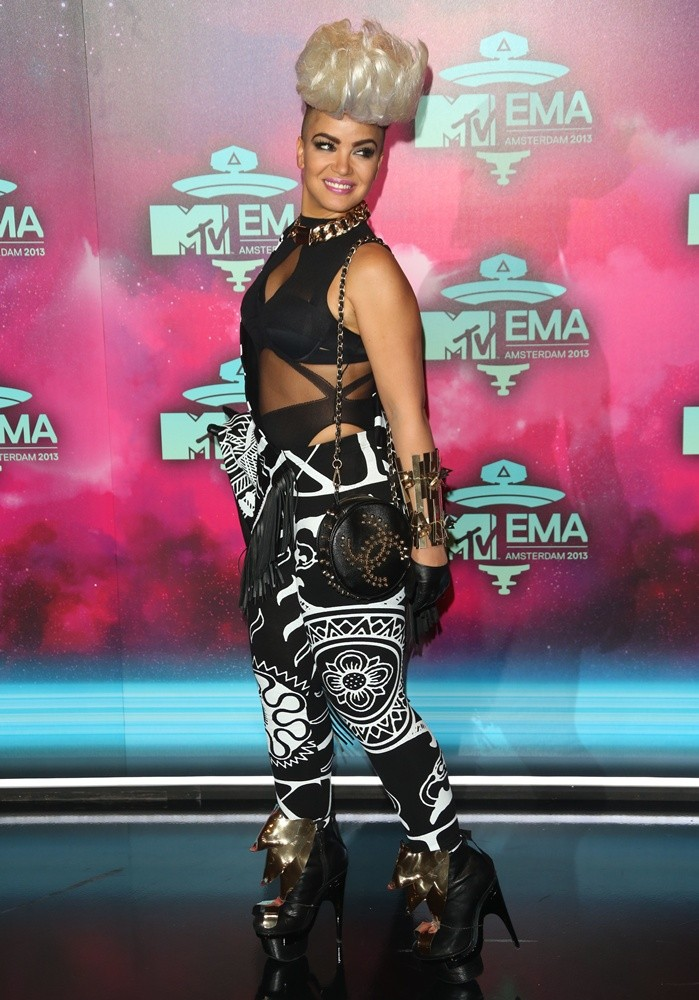 Eva Simons<br>20th MTV Europe Music Awards - Arrivals