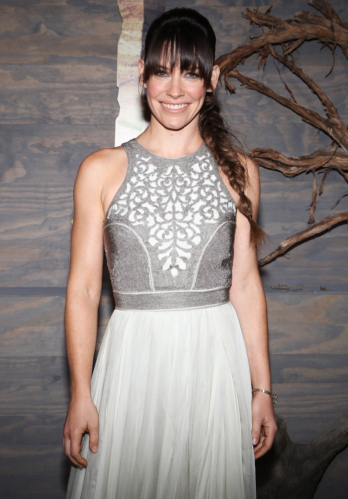 Evangeline Lilly<br>The Hobbit: The Desolation of Smaug Los Angeles Premiere
