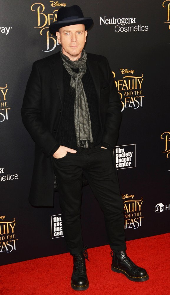 Ewan McGregor<br>Beauty and the Beast New York Screening