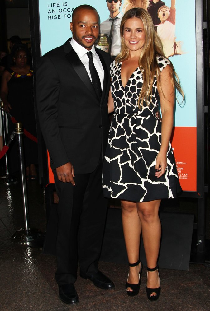 Donald Faison, CaCee Cobb<br>Premiere of Focus Features' Wish I Was Here