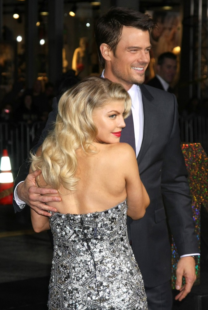 Stacy Ferguson, Josh Duhamel<br>Los Angeles Premiere of New Year's Eve