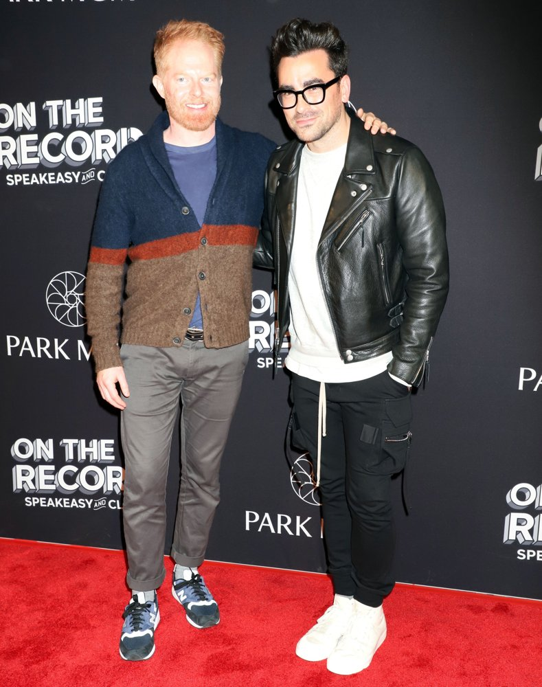 Jesse Tyler Ferguson, Justin Mikita<br>On The Record Grand Opening