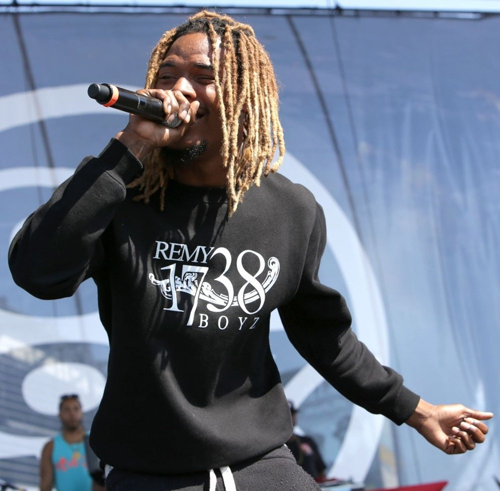 Fetty Wap Performing