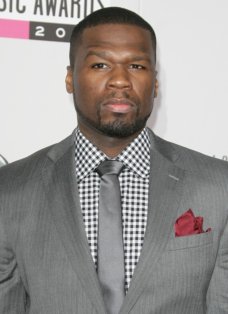50 Cent<br>The 40th Anniversary American Music Awards - Arrivals