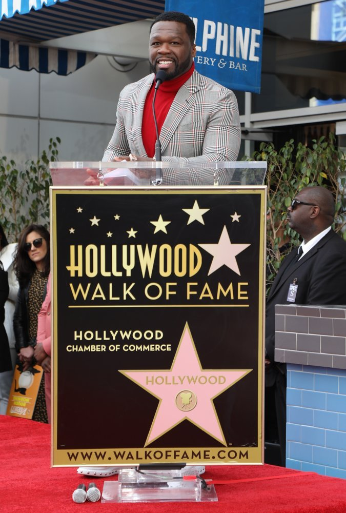 50 Cent<br>50 Cent Is Honored with A Star on The Hollywood Walk of Fame