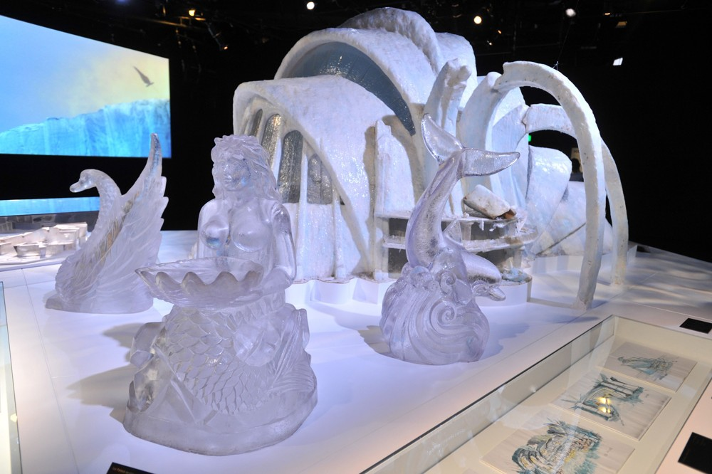 Ice Palace Sculptures Designing 007 - Fifty Years of Bond Style