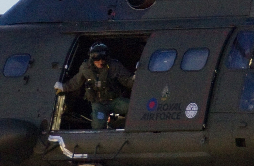 Filming Takes Place for Tom Cruise's Movie  All You Need Is Kill