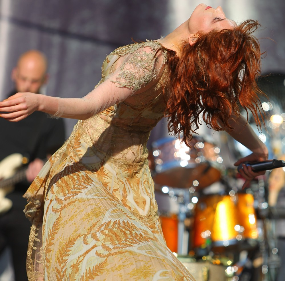 saunders florence and the machine