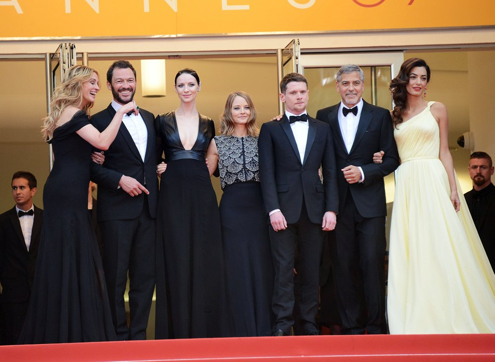 Julia Roberts, Dominic West, Caitriona Balfe, Jodie Foster, Jack O'Connell, George Clooney, Amal Alamuddin<br>69th Cannes Film Festival - Money Monster Premiere - Arrivals