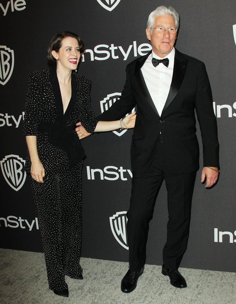 Claire Foy, Richard Gere<br>InStyle Warner Bros Golden Globe After Party 2019