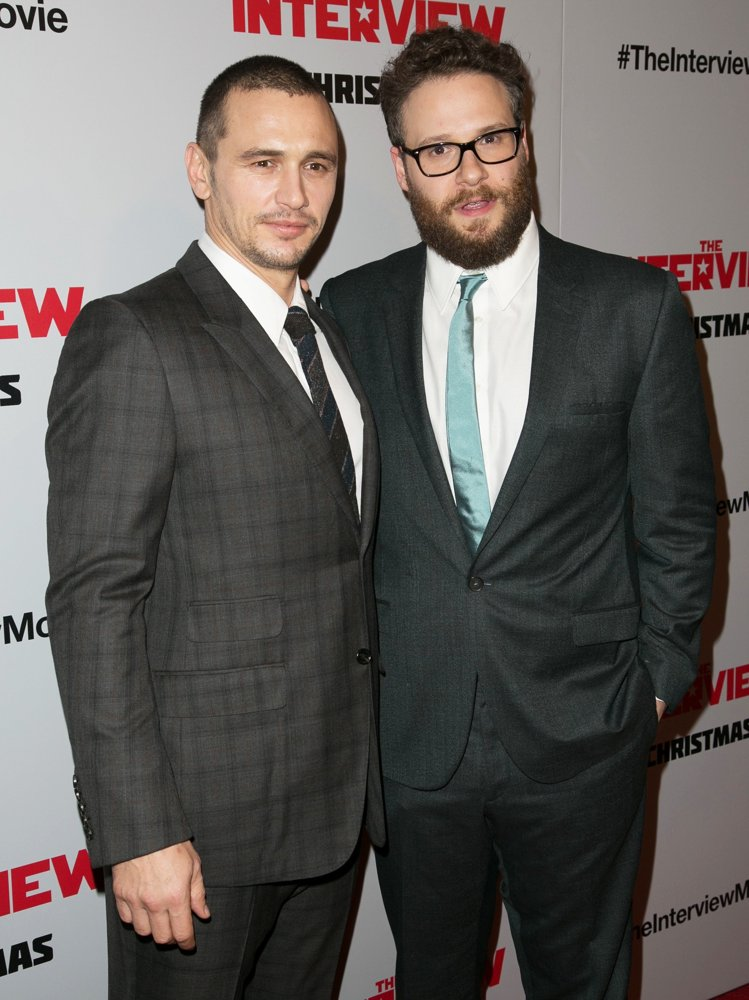 James Franco, Seth Rogen<br>Los Angeles Premiere of The Interview - Red Carpet Arrivals