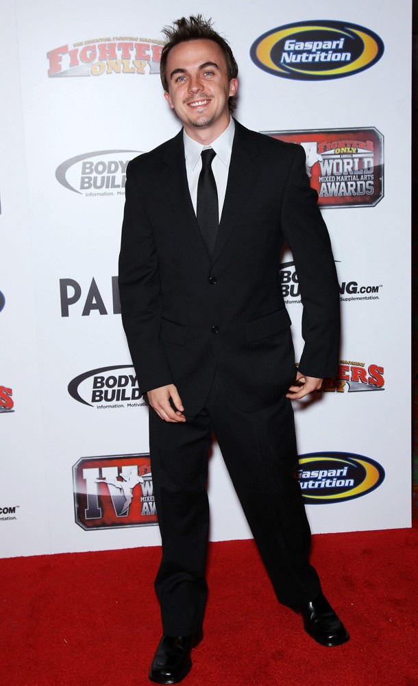 Frankie Muniz<br>4th Annual Fighters Only World Mixed Martial Arts Awards 2011