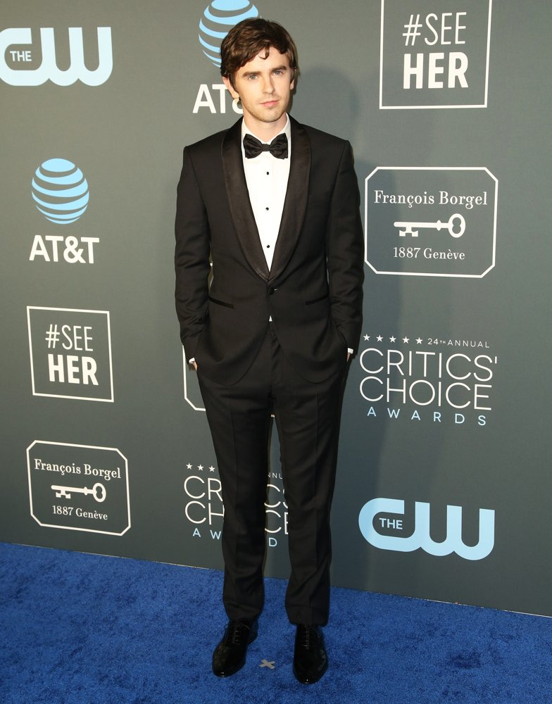 Freddie Highmore<br>24th Annual Critic's Choice Awards - Arrivals