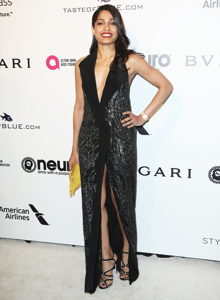 Freida Pinto<br>25th Annual Elton John AIDS Foundation's Academy Awards Viewing Party
