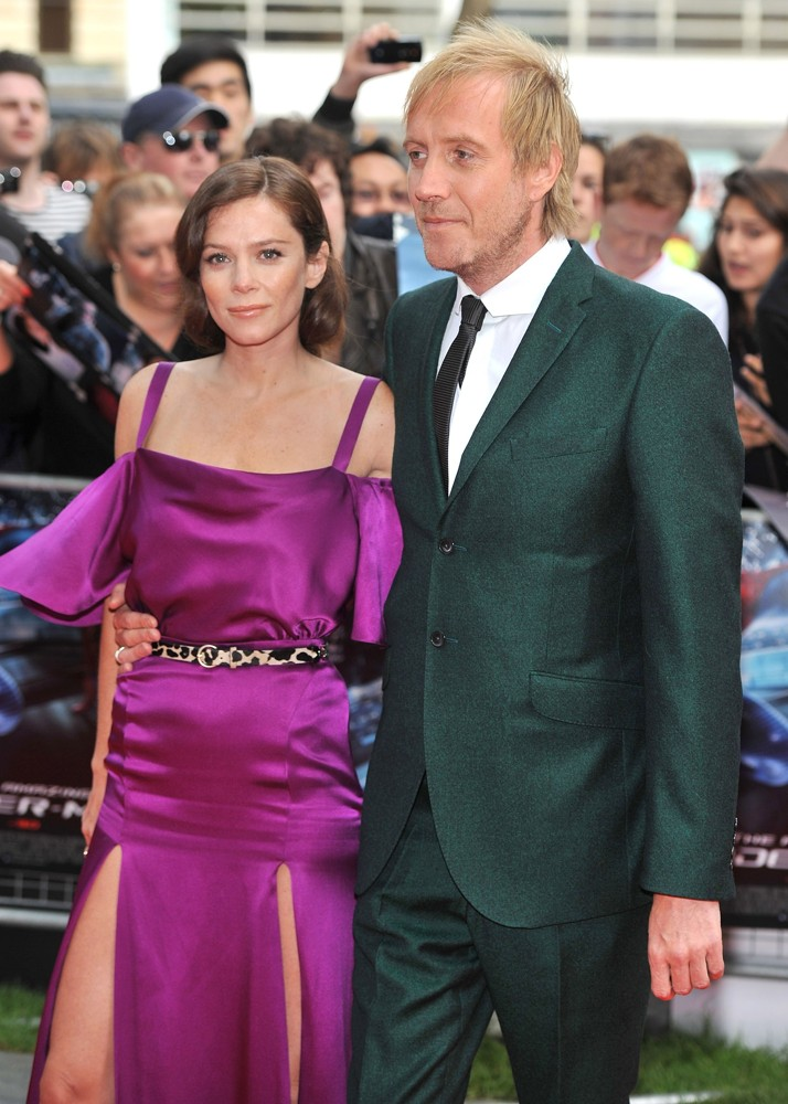 Anna Friel, Rhys Ifans<br>The Premiere of The Amazing Spider-Man