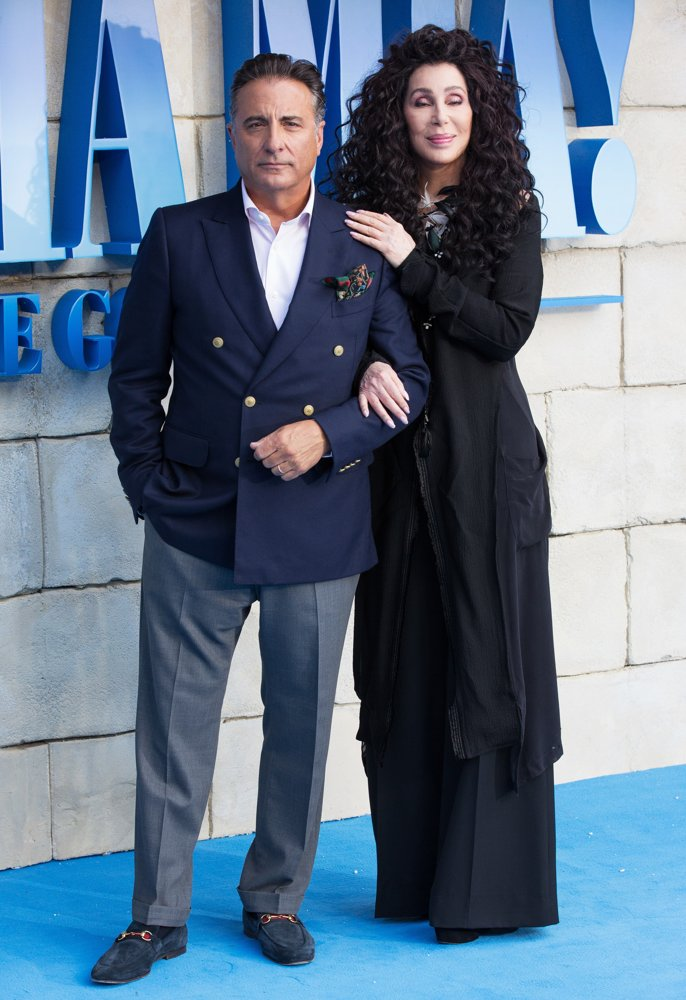 Andy Garcia, Cher<br>The World Premiere of Mamma Mia! Here We Go Again - Arrivals