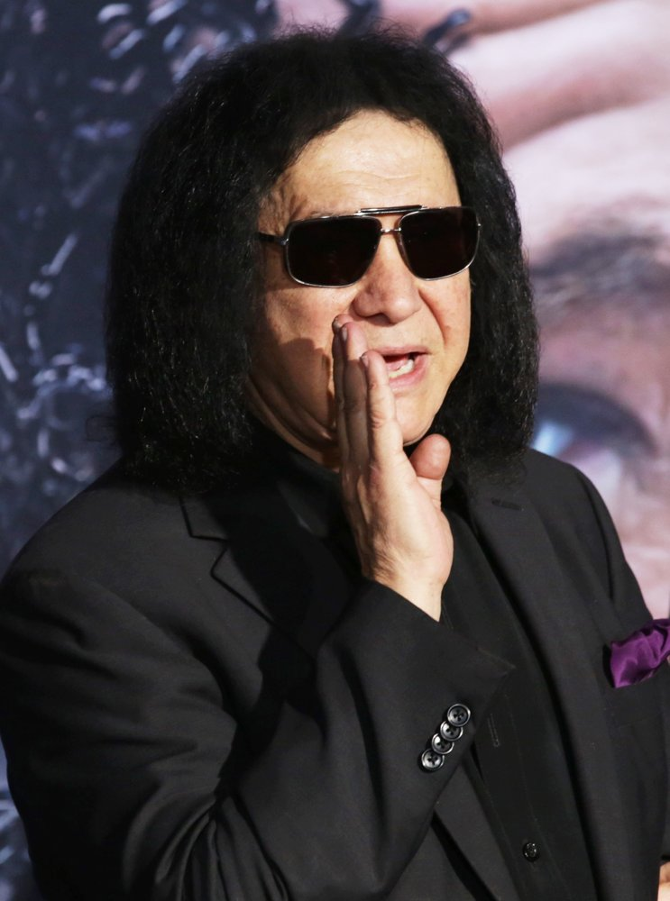 Gene Simmons, KISS<br>The World Premiere of Venom