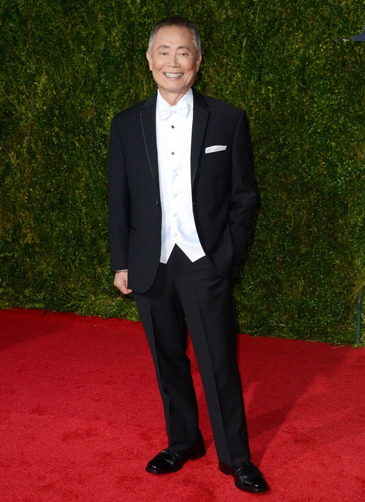 George Takei<br>American Theatre Wing's 69th Annual Tony Awards - Red Carpet Arrivals