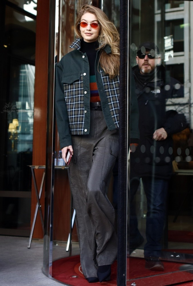 Gigi Hadid<br>Gigi Hadid Out and About in Paris