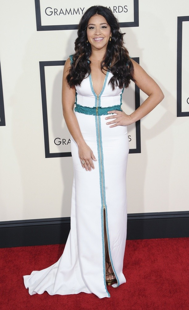 Gina Rodriguez<br>57th Annual GRAMMY Awards - Arrivals