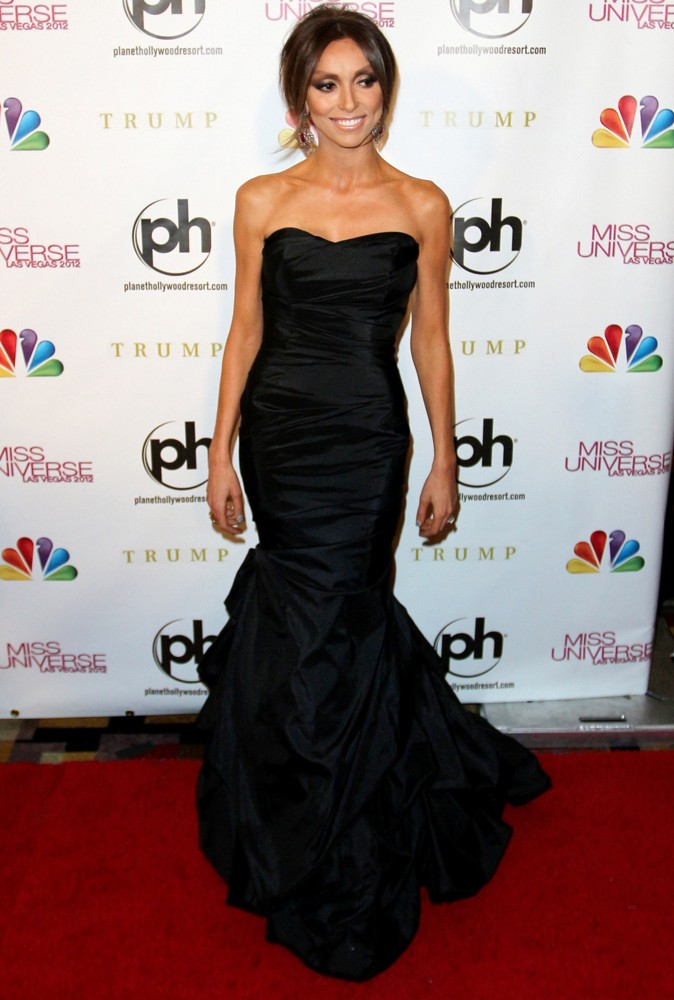 Giuliana Rancic<br>2012 Miss Universe Pageant - Arrivals