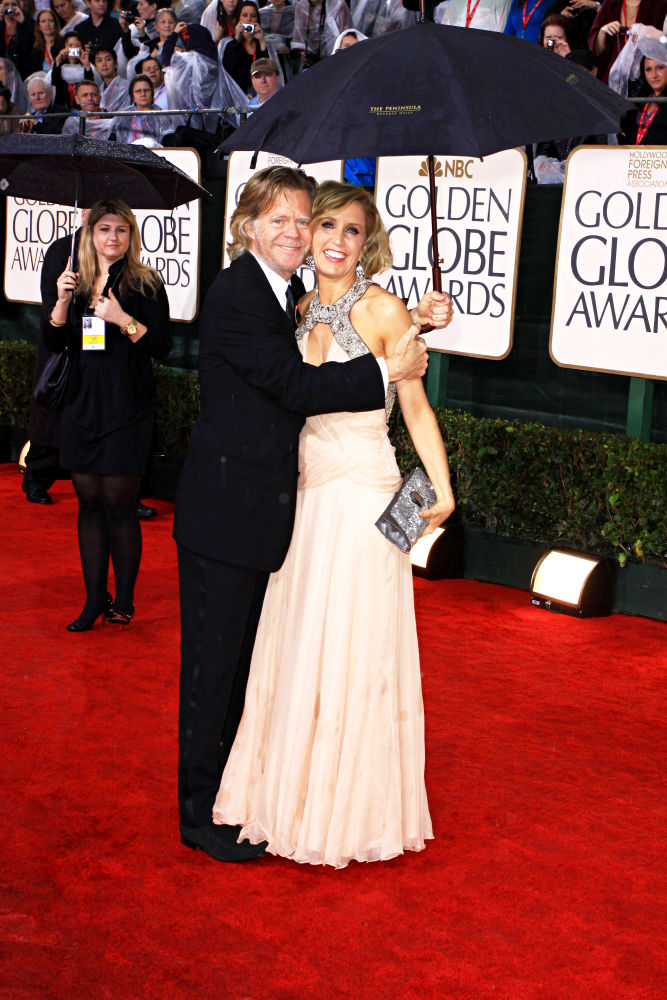 Felicity Huffman, William H. Macy<br>67th Golden Globe Awards - Arrivals