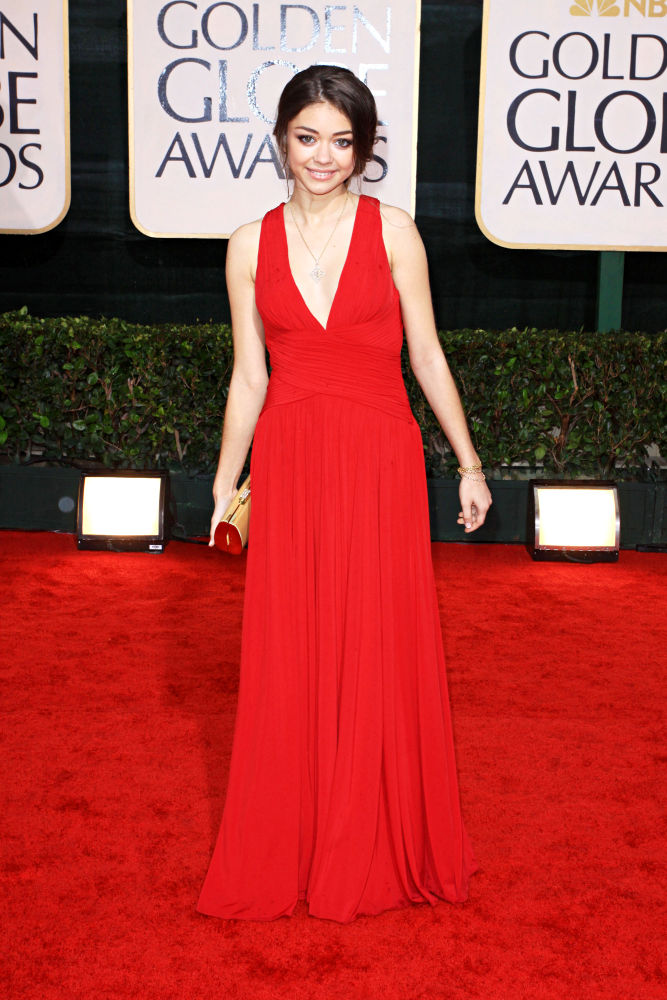 Sarah Hyland in 67th Golden Globe Awards - Arrivals
