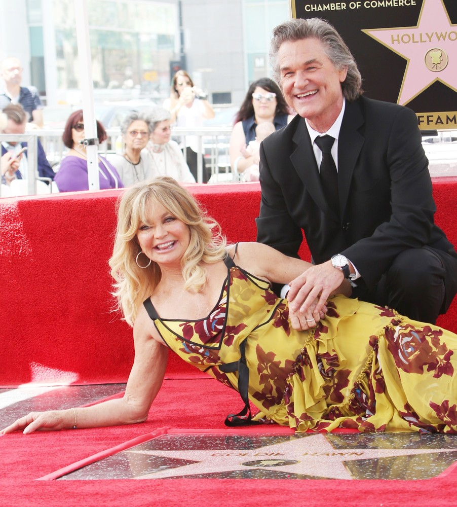 Goldie Hawn, Kurt Russell<br>Goldie Hawn and Kurt Russell Honored with Double Star Ceremony on The Hollywood Walk of Fame